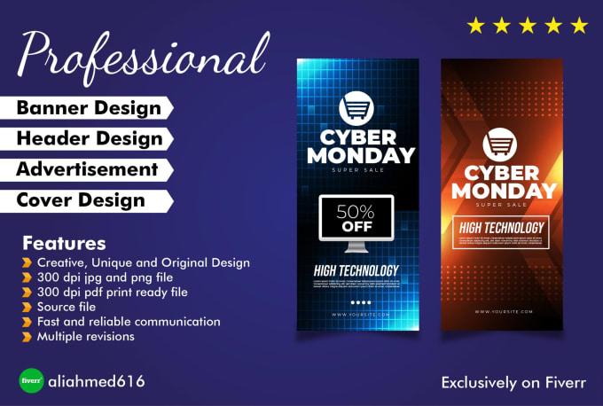Design Web Banner Header Ads Facebook Page Cover
