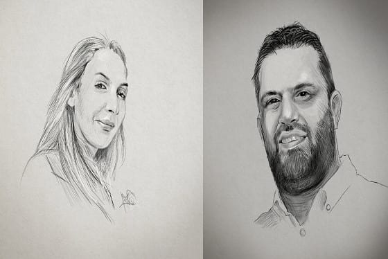 draw your portrait photo on pencil sketch mode by rhrahat1