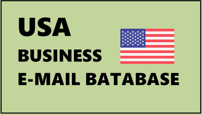 give USA business email lists, us b2b email lists