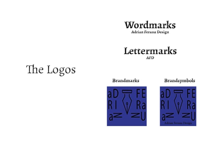 I Will Create A Wordmark Lettermark Or Brandsymbol Logo