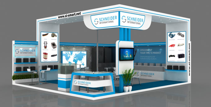 Normal Exhibition Booth Size : Design creative exhibition booth expo stand and stalls by
