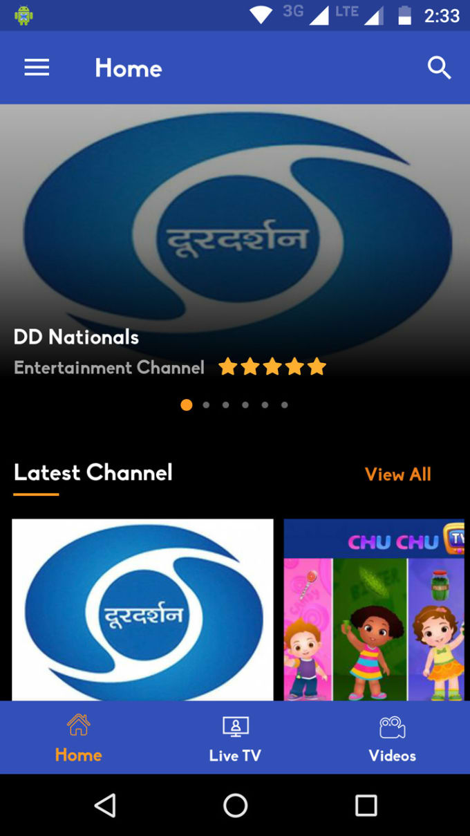 taimoor5566 : I will android live TV with material design with php bakend  for $25 on www fiverr com