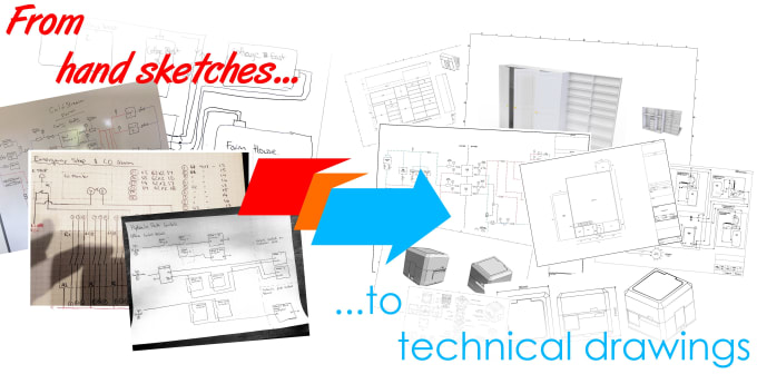harrischapman : I will turn your engineering sketches into technical  masterpieces for $80 on www fiverr com