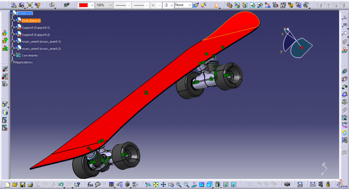 scprpion32 : I will do mechanical design in catia v5 and solidworks for $5  on www fiverr com