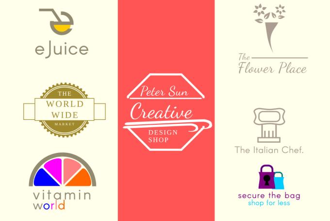 Design An Attractive Logo For Etsy Shopify Ebay Online Shop