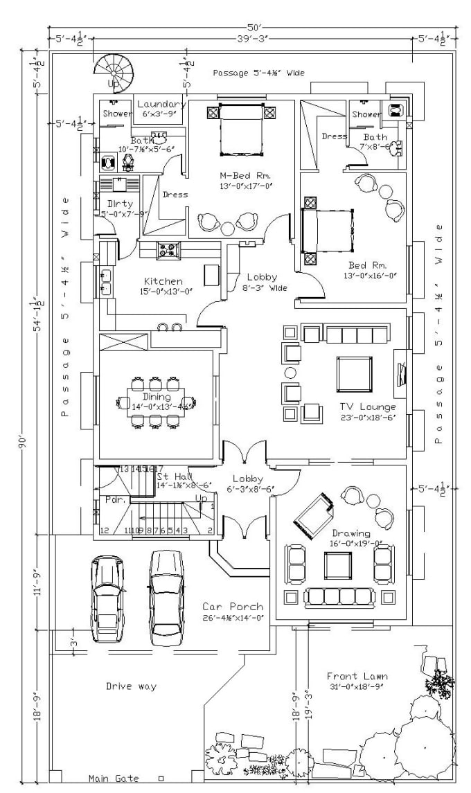 Do Floor Plan Furniture Layout Plumbing Layout