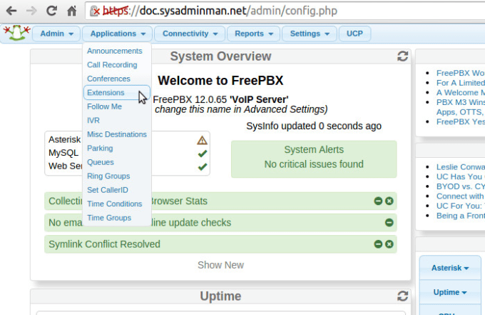 Manage your asterisk freepbx bicom by Amadali1