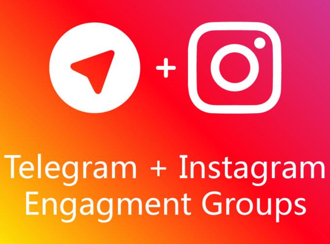 develop telegram bot for instagram engagement group