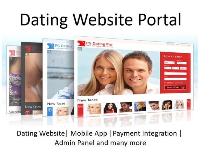 Custom dating website