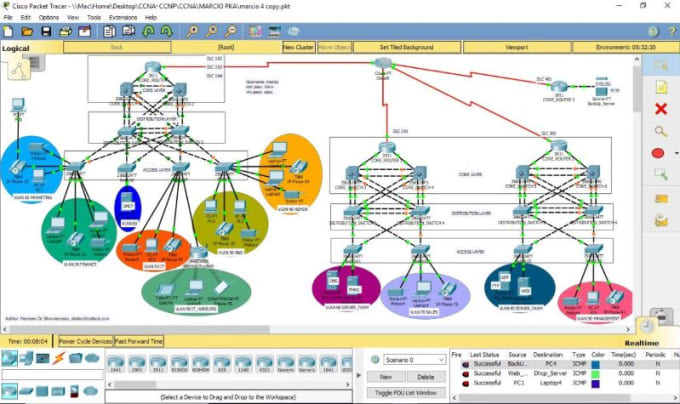 network packet tracer online