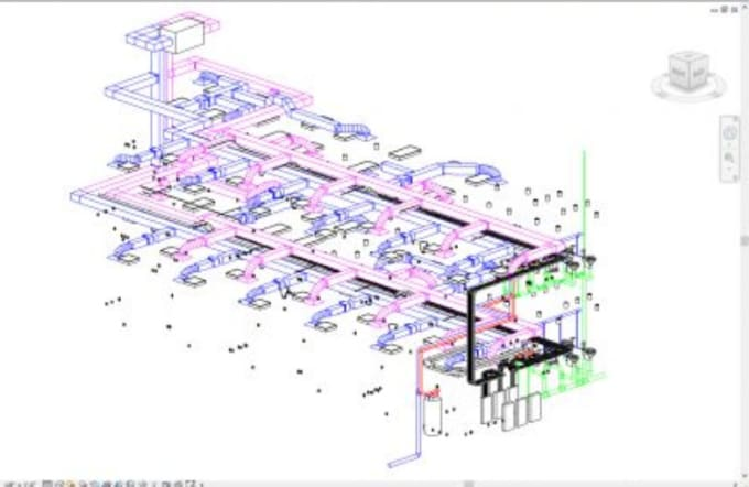do hvac,fire fighting, plumbing and electrical in revit mep