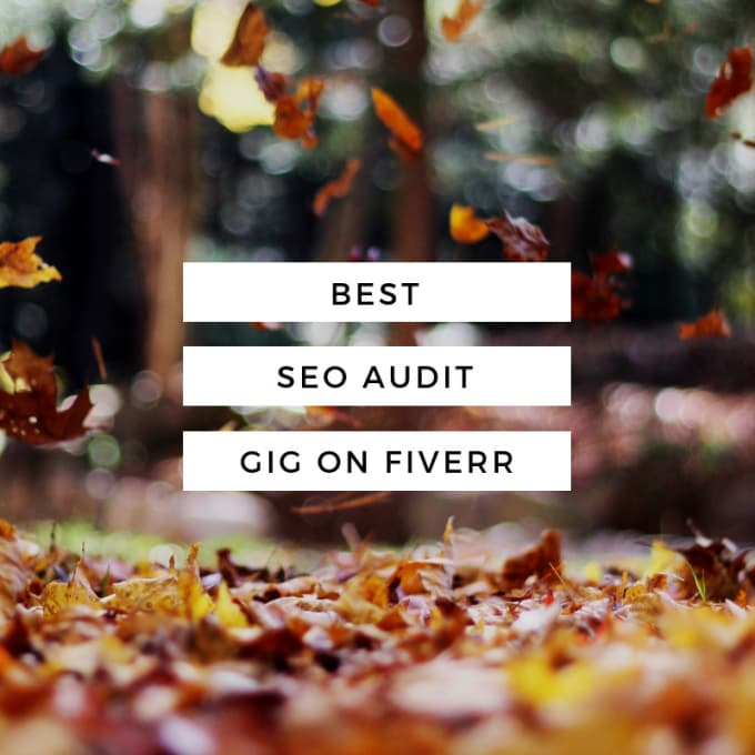 erozgaarbzu : I will do website analysis for better google ranking for $5  on www fiverr com
