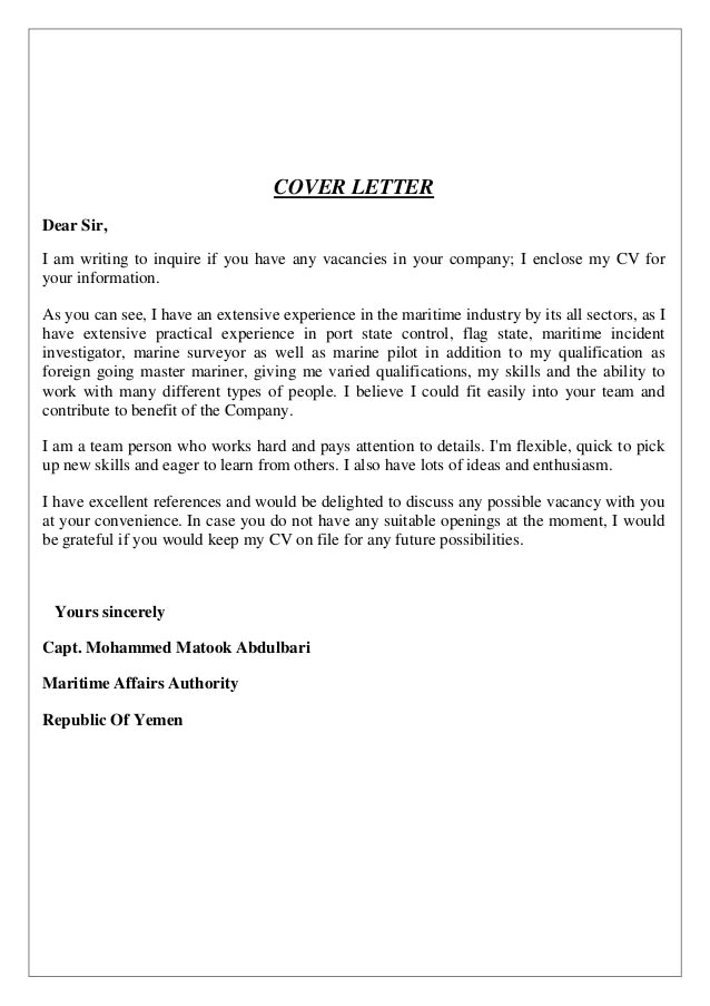 Write CV And Cover Letter