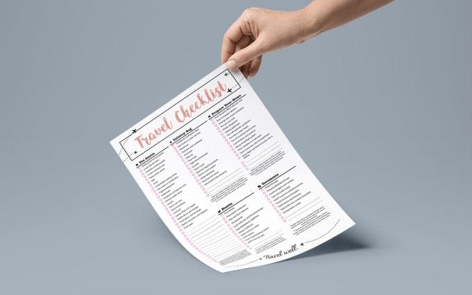 design your checklist to do list schedule by catanna