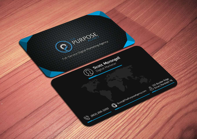 Do Any Type Of Business Card With Print Ready By Anditservices