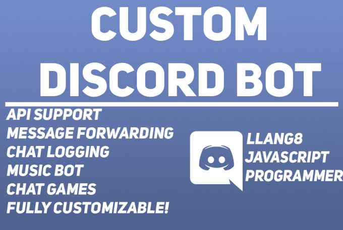 build a custom discord bot in javascript