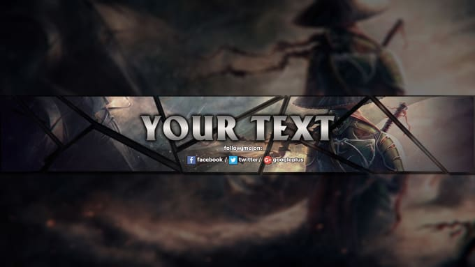 fireflynahian : I will design gaming youtube channel art for $5 on  www fiverr com
