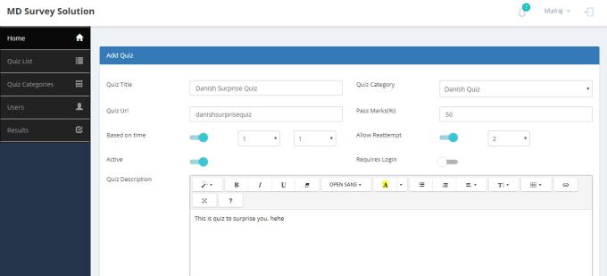 give you simple surveys solution by danishfarhaj443