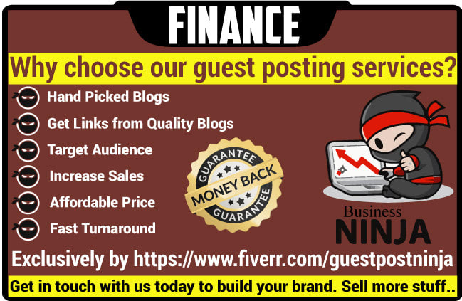 publish your guest post on high quality finance blog