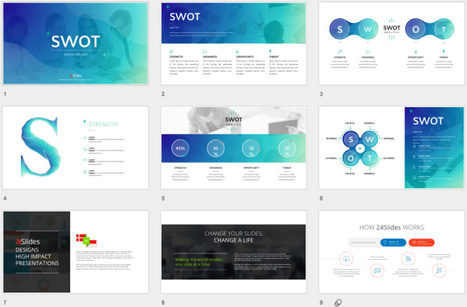 design aesthetic powerpoint slide in 20 hour by hhamzi