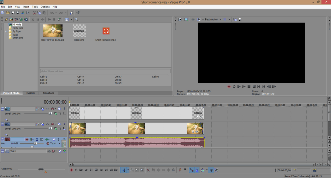 how to edit videos with sony vegas pro 13
