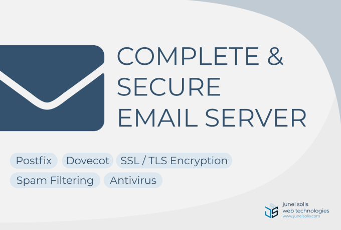 configure complete and secure email server