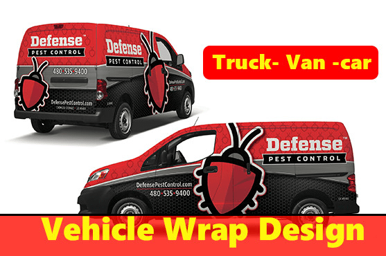 Awesome Car Van Truck Vehicle Wrap Design 12 Hrs By Sujon Us