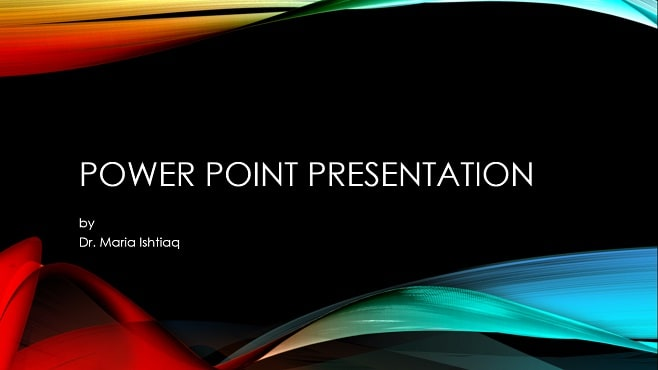 make powerpoint presentations on medical topics in 24hours