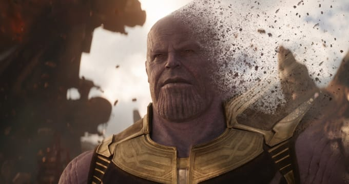 do similar thanos finger snap disintegration effect