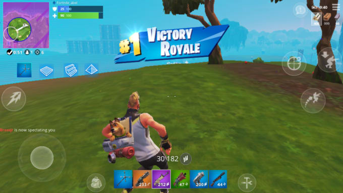 abellopezm : I will personally coach you on the mobile fortnite app for $5  on www fiverr com
