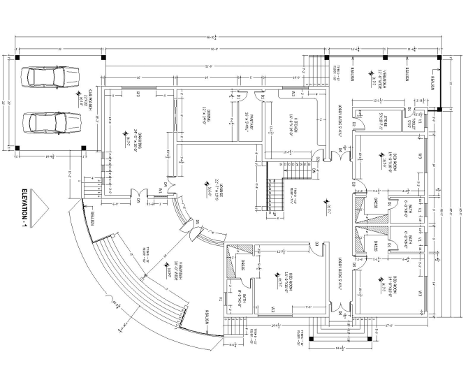 Draw Your Architectural Floor Plan In Auto Cad 2d By Asgharali01