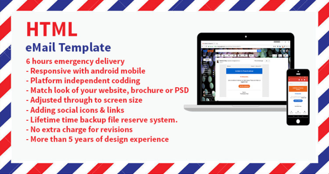 Make Responsive Email Templates By Robii15