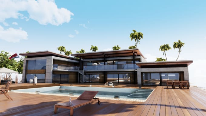 do architectural rendering with twinmotion