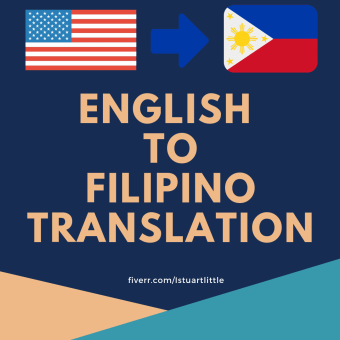 istuartlittle : I will be your filipino translator for your localization  needs for $5 on www fiverr com