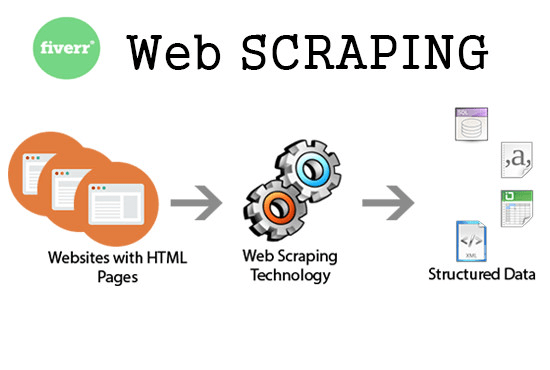 taystu : I will scrape crawl extract information from any website for $5 on  www fiverr com