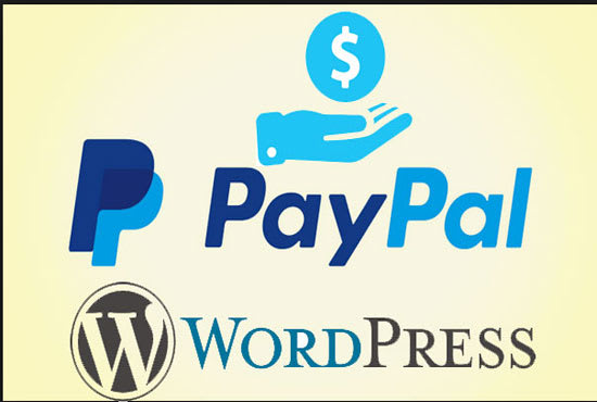integrate paypal or payment option in wordpress website within 24 hours