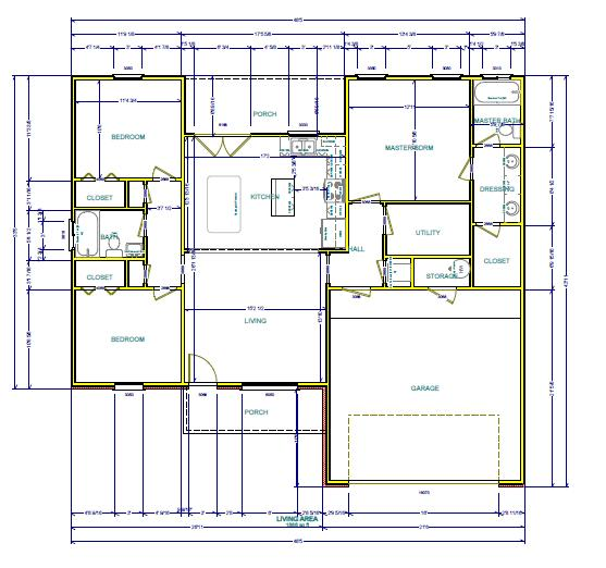 Draw floor plans for real estate agents