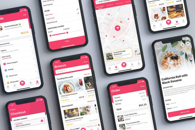 provide you ready made food delivery app at very low cost