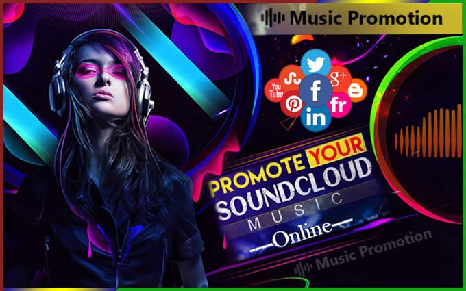 do soundcloud music promotion to 100 million social media users