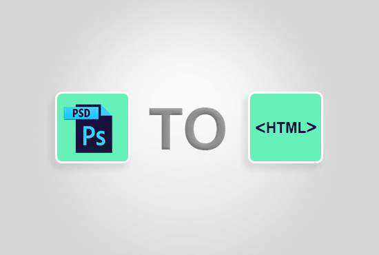 convert PSD to html5 css3 and bootstrap