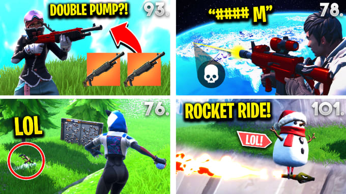 make thumbnails for fortnite, overwatch and cod