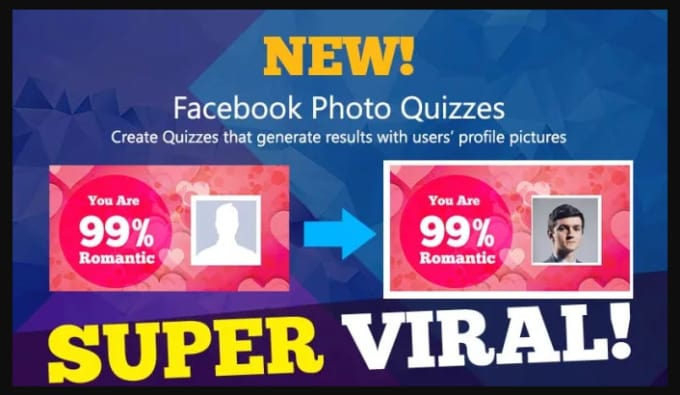 create fb viral quiz website like playbuzz and buzzfeed
