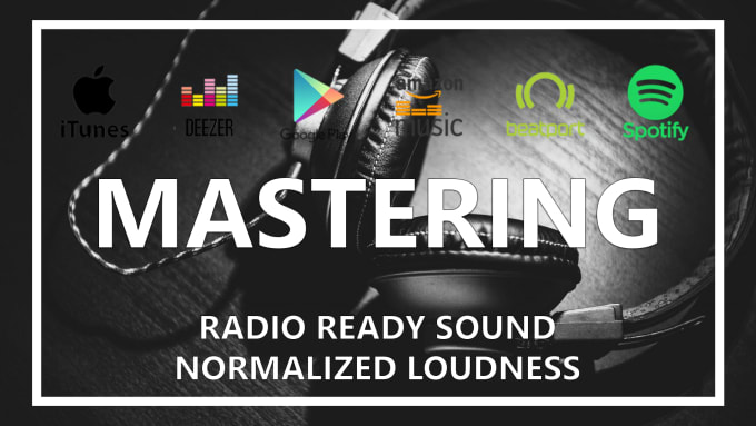 do mastering for soundcloud, itunes, spotify and youtube
