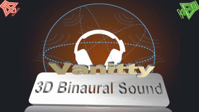 convert your audio to 3d binaural, or 432 hz