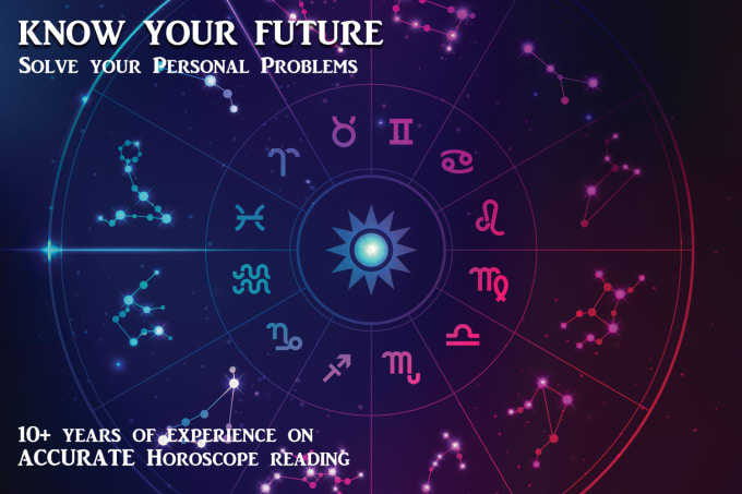 give you professional accurate horoscope reading