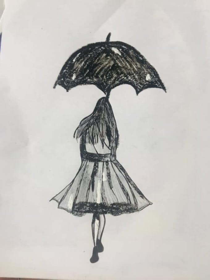 Depressed Anime Girl Drawings