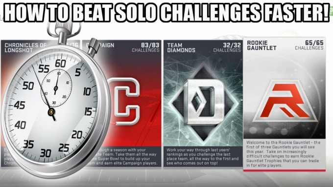 madden 19 coach and solo challenges and battles grinder
