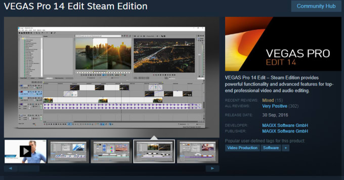 setos5 : I will selling sony vegas pro 14 steam edition for $225 on  www fiverr com