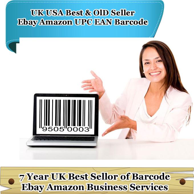 sell 20,000 ean upc codes valid ebay amazon listings