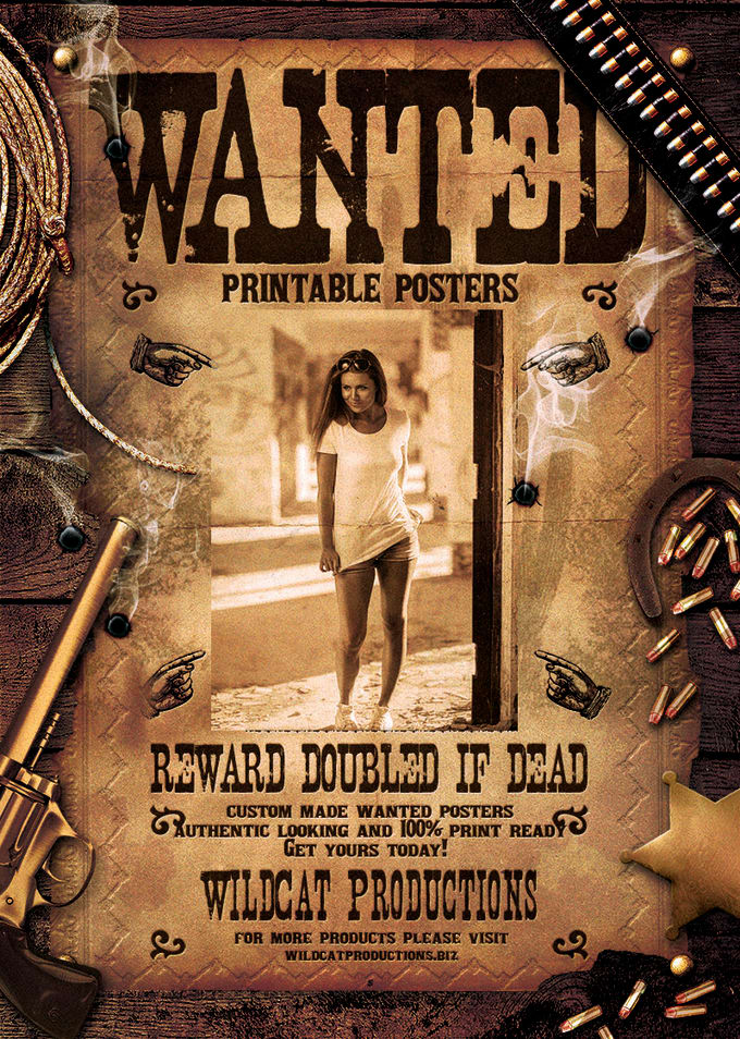 picture relating to Printable Wanted Poster named djacidfx : I will establish a printable desired poster for $5 upon